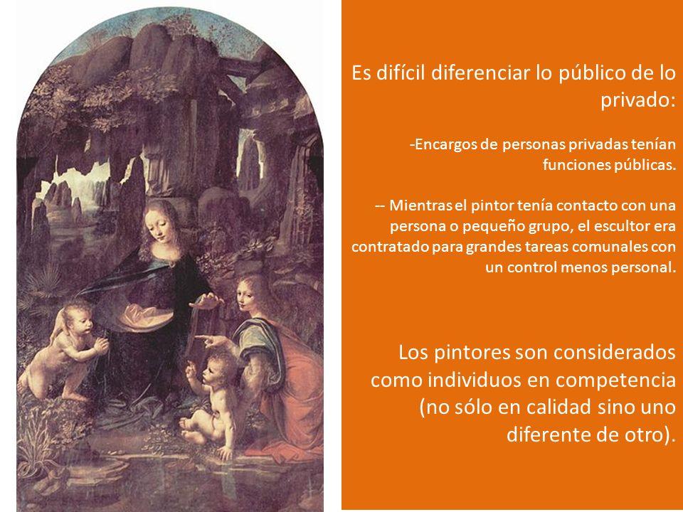 Leonardo da Vinci La Virgen de las rocas 1483-1486 Óleo sobre lienzo 199 x 122 cm Museo del Louvre Encargada por la hermandad Concepción de la virgen