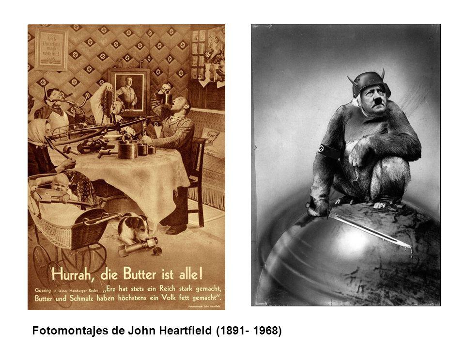 Fotomontajes de John Heartfield (1891- 1968)