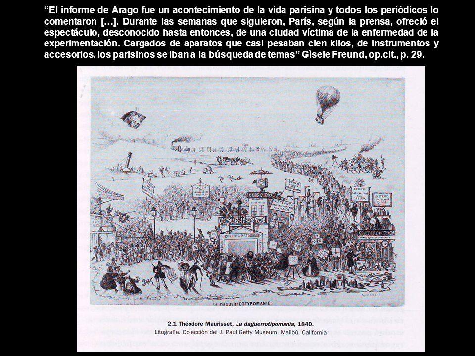 El informe de Arago fue un acontecimiento de la vida parisina y todos los periódicos lo comentaron […].