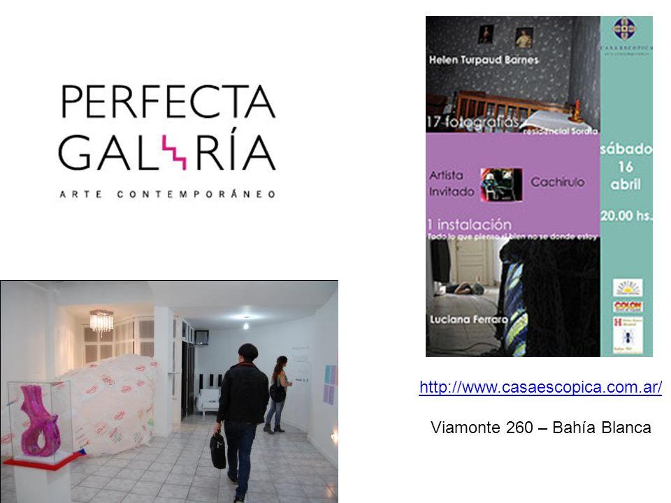 http://www.casaescopica.com.ar/ Viamonte 260 – Bahía Blanca