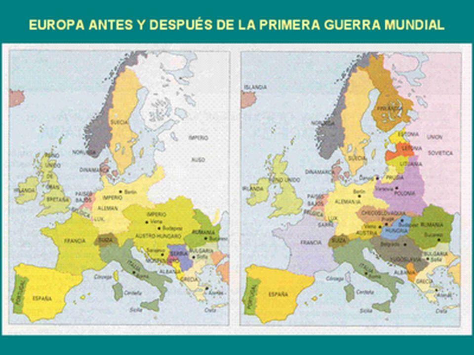 Los impactos de la guerra, desde lo que destruye y desde lo que se edifica El nuevo orden en un escenario alejado El nuevo orden en el mapa europeo