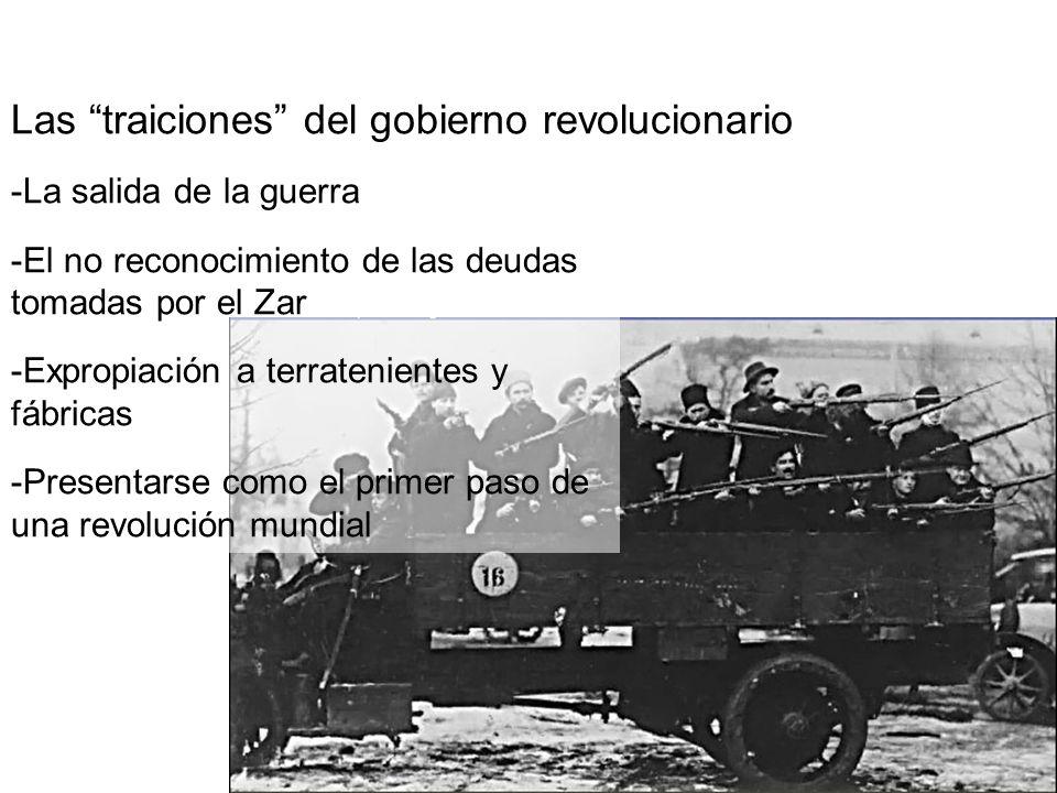 El comunismo en guerra: ensayo de errores y búsqueda de un nuevo orden La NEP y el retorno a elementos de mercado La planificación y la recentralización económica