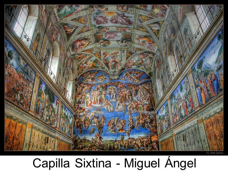 El Juicio final Miguel Ángel 1536-1541