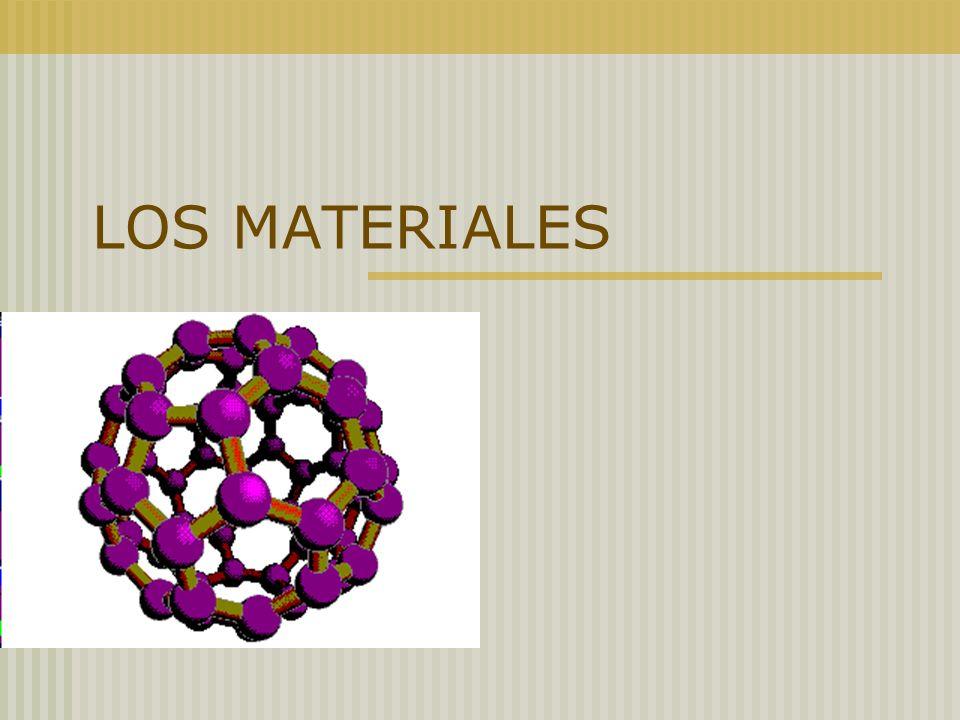 Materiales y materias primas.Las propiedades de los materiales.