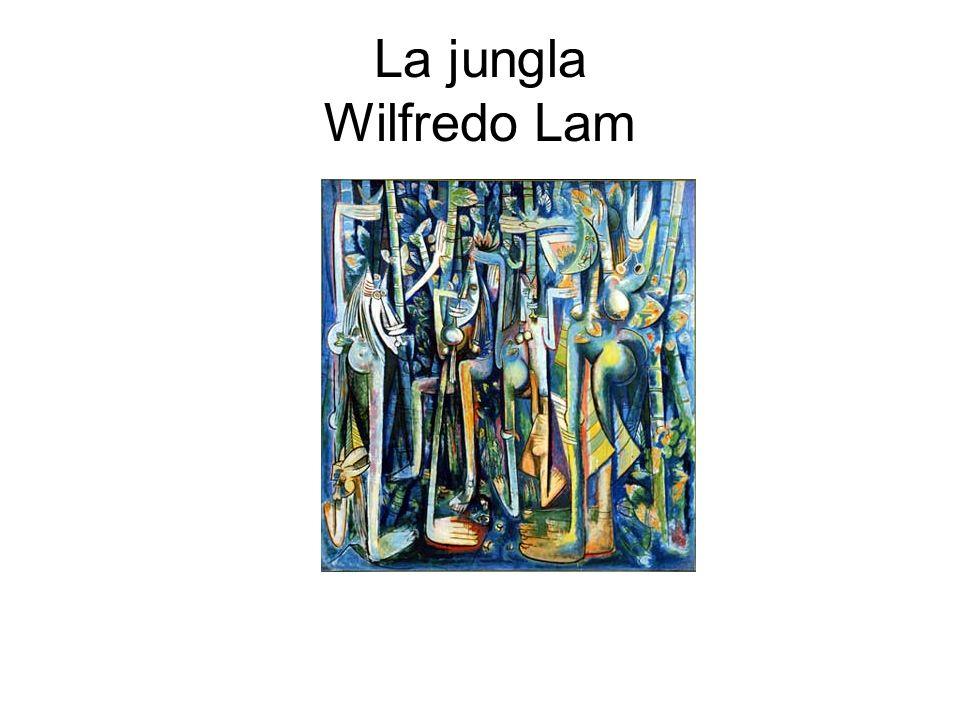 La jungla Wilfredo Lam