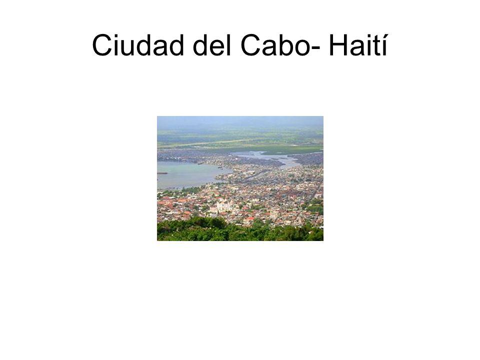 Ciudad del Cabo- Haití