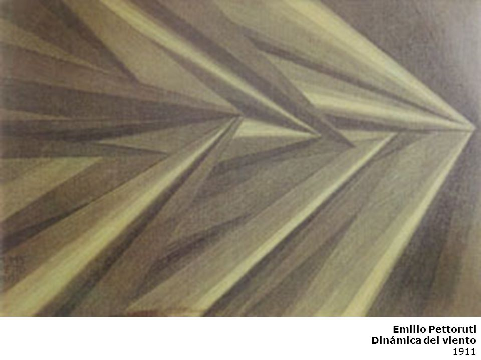 Emilio Pettoruti Dinámica del viento 1911
