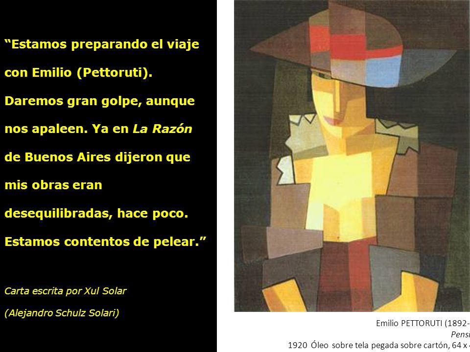 Cesáreo Bernaldo de QUIROS (1881-1968) El embrujador, 1919 Óleo sobre tela, 111,5 x 91 cm. Colección MNBA Estamos preparando el viaje con Emilio (Pett