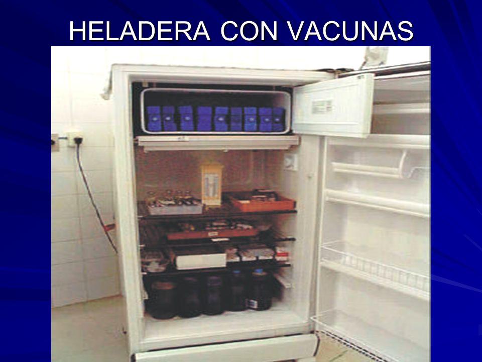 HELADERA CON VACUNAS