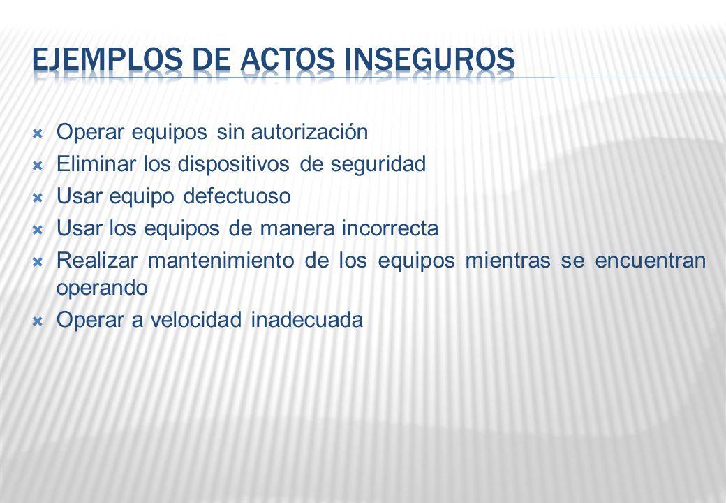 MÁQUINAS Y HERRAMIENTAS Utilizar los dispositivos de protección.