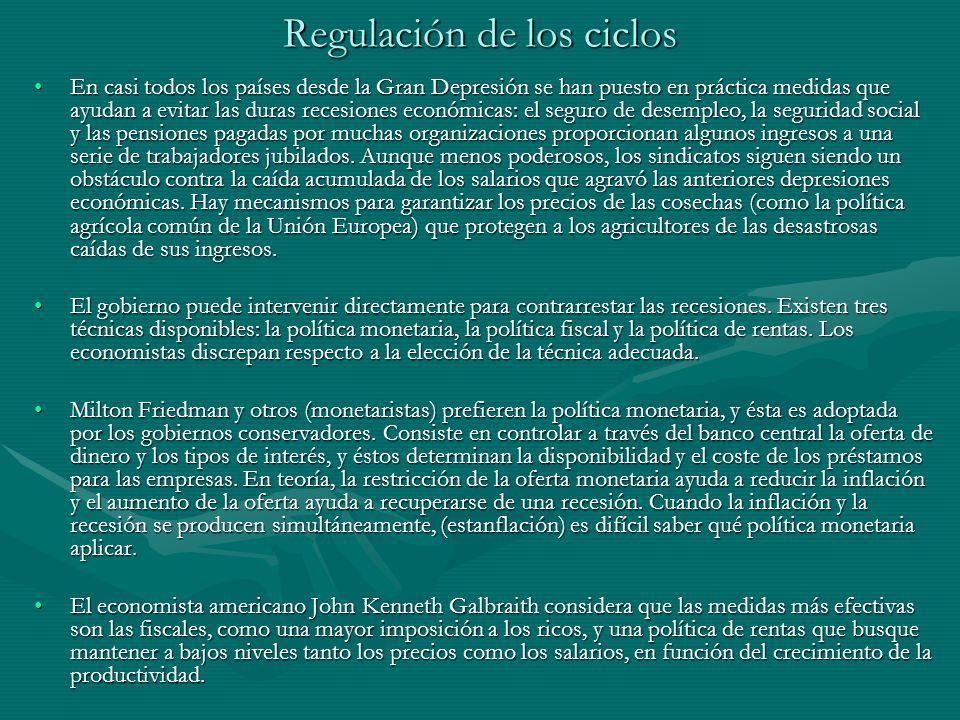 Consecuencias de la teoría keynesiana Las teorías económicas neoclásicas, hasta entonces vigentes, fueron puestas en duda por Keynes.