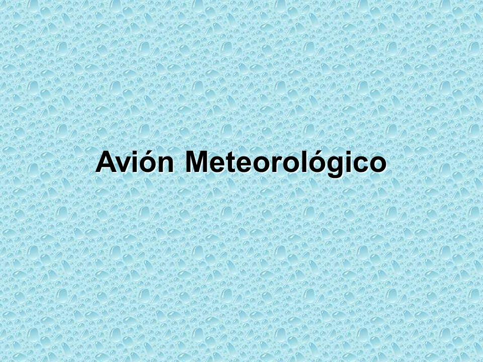 Avión Meteorológico