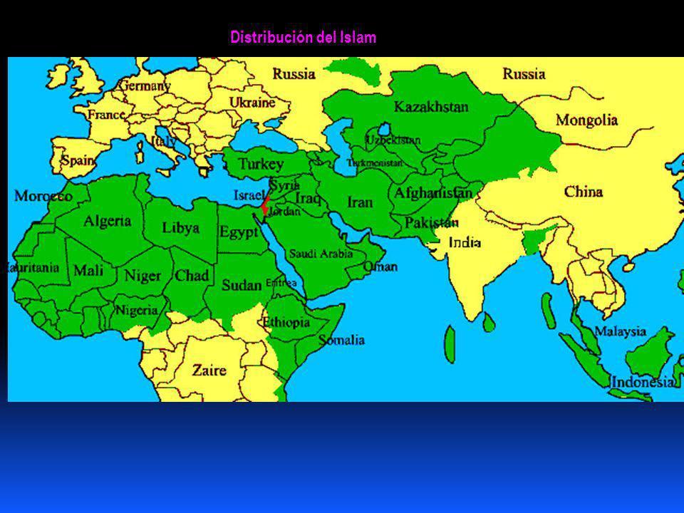 Distribución del Islam