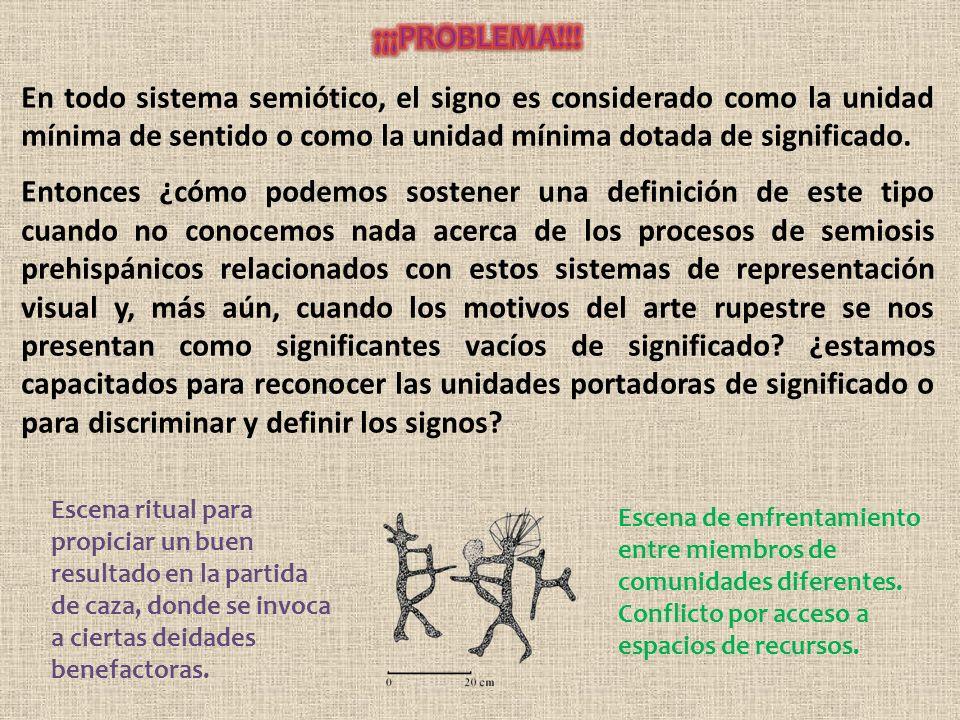 En todo sistema semiótico, el signo es considerado como la unidad mínima de sentido o como la unidad mínima dotada de significado.