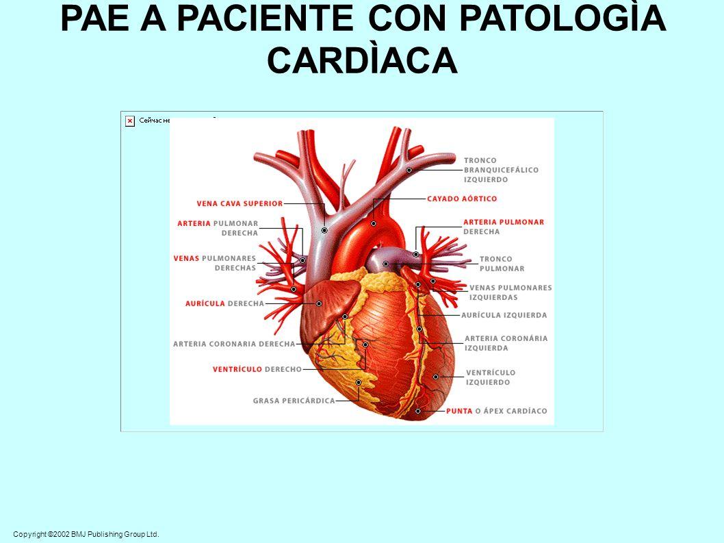 Cuidados o intervenciones generales de Enfermería Vigilancia de la aparición de cualquier tipo de latidos ventriculares prematuros: (Pueden anunciar taquicardia o fibrilación ventricular).