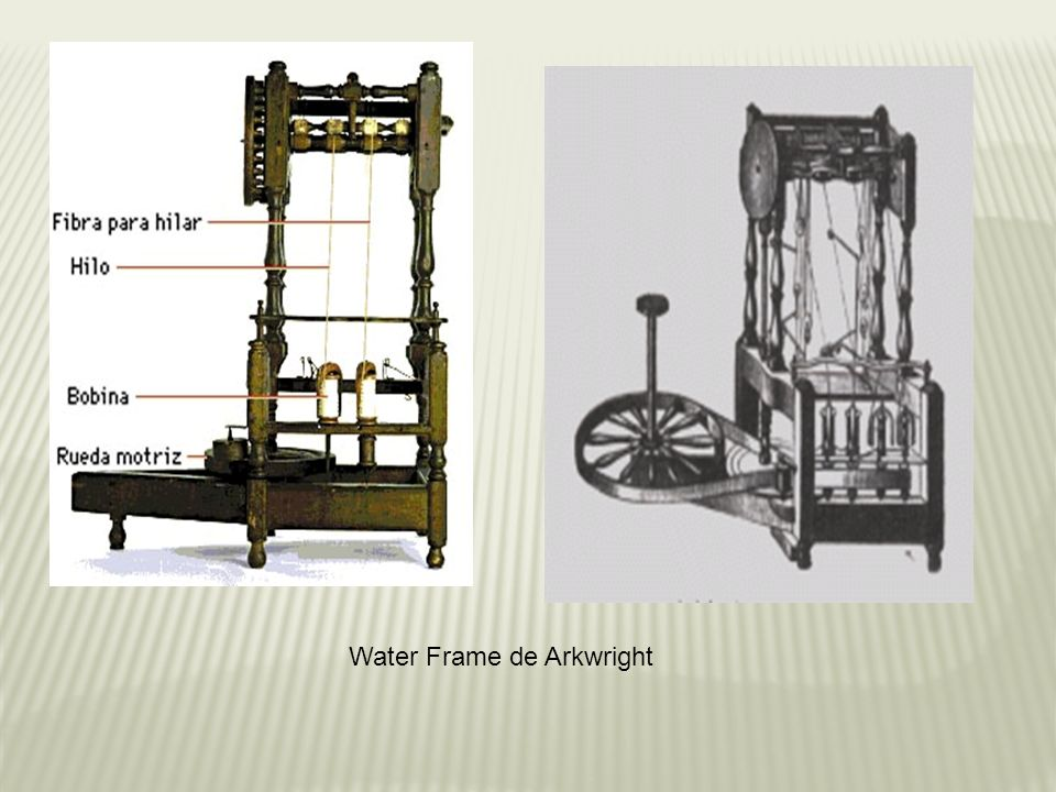 Water Frame de Arkwright