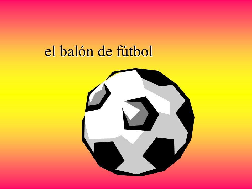 el fútbol el jugador de fútbol La pelota o el balón