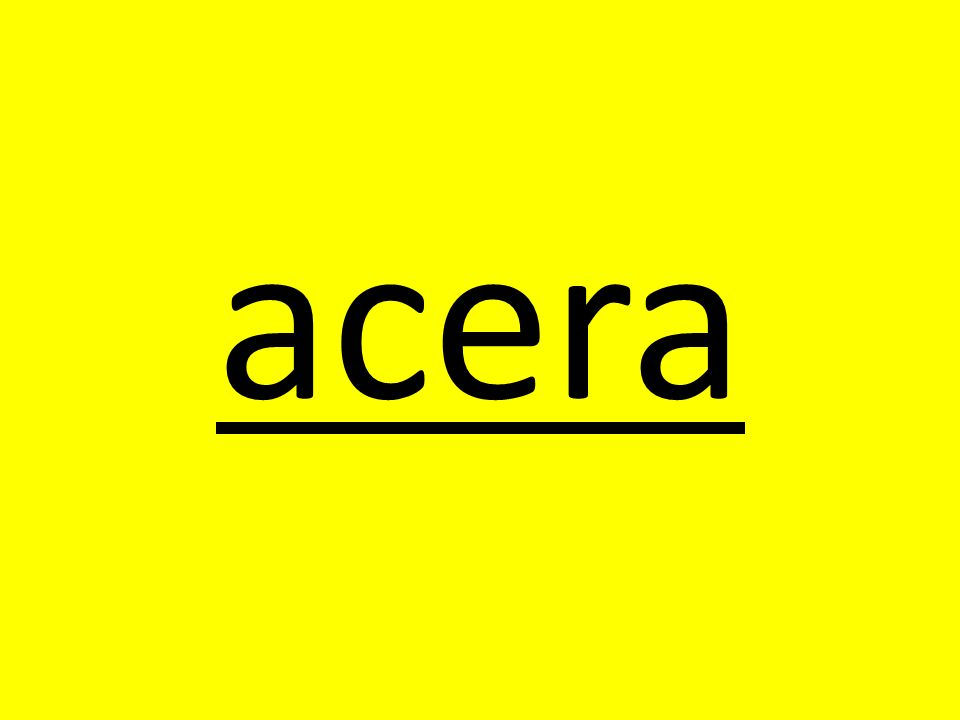 acera