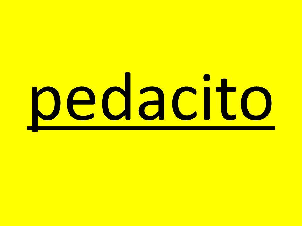 pedacito