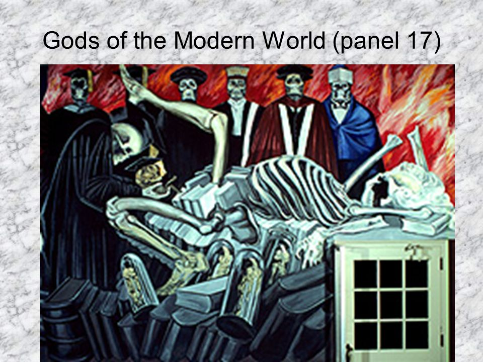 Gods of the Modern World (panel 17)