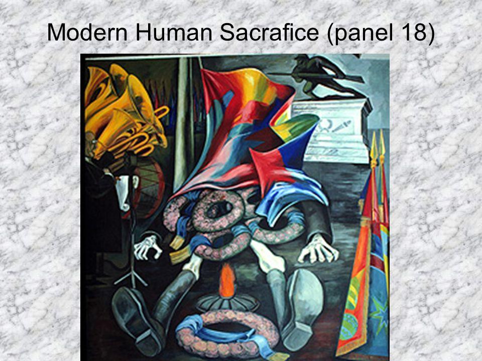 Modern Human Sacrafice (panel 18)