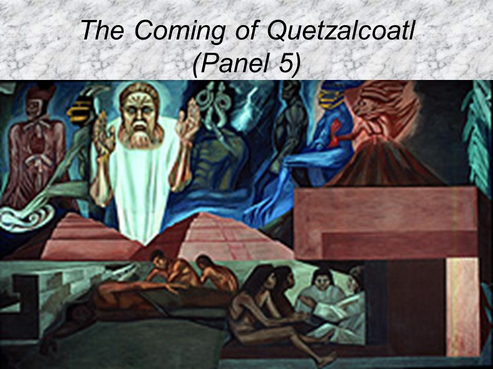 The Coming of Quetzalcoatl (Panel 5)