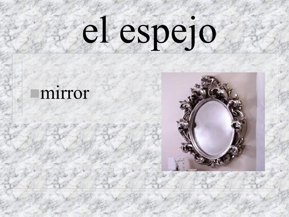 el espejo n mirror