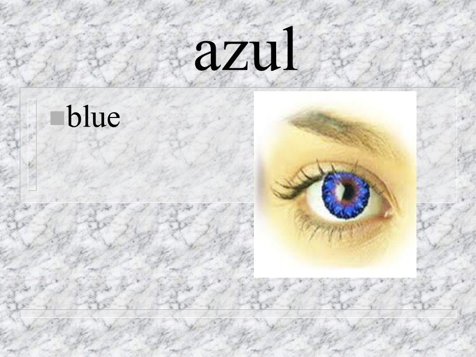 azul n blue