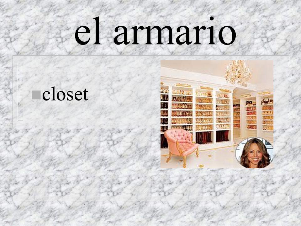 el armario n closet