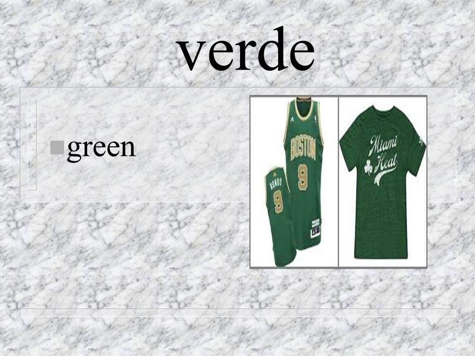verde n green