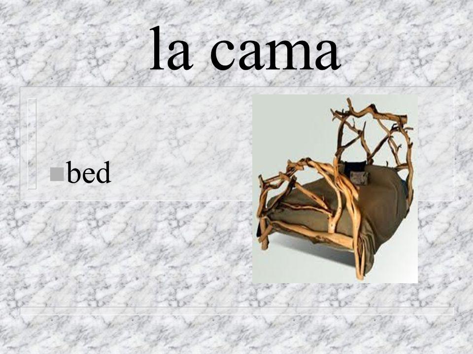 la cama n bed