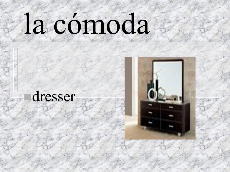 la cómoda n dresser
