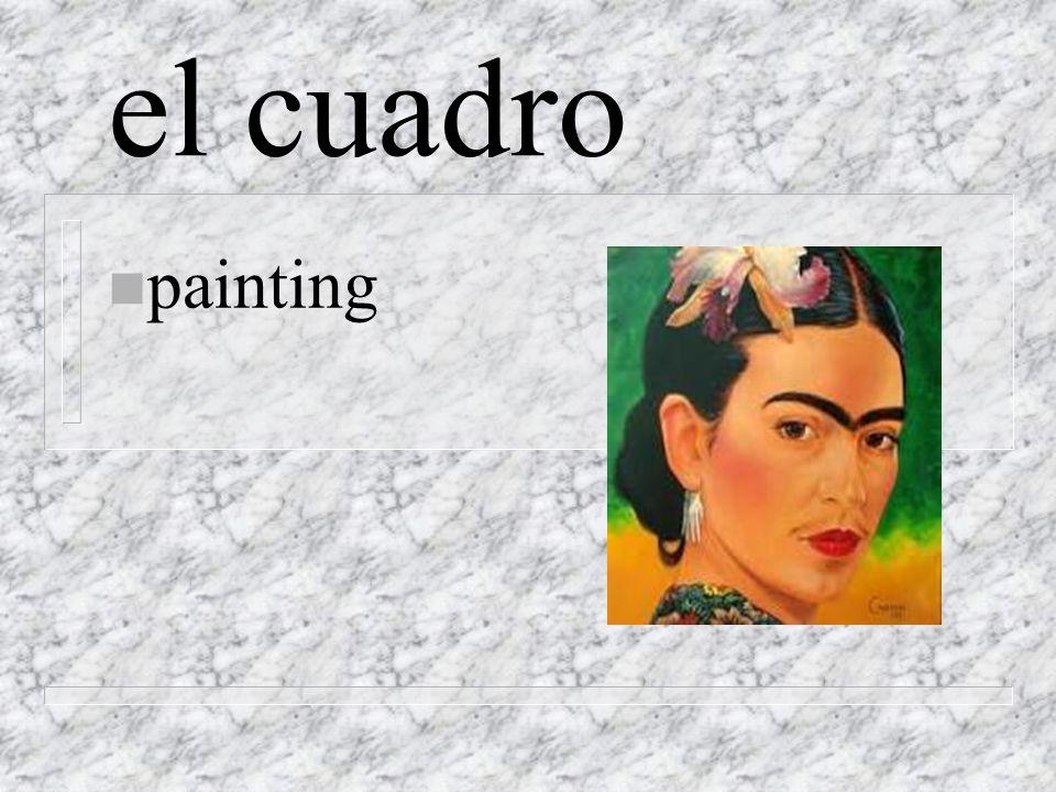el cuadro n painting