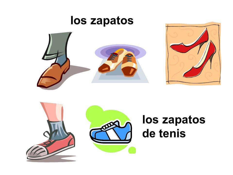 los zapatos los zapatos de tenis