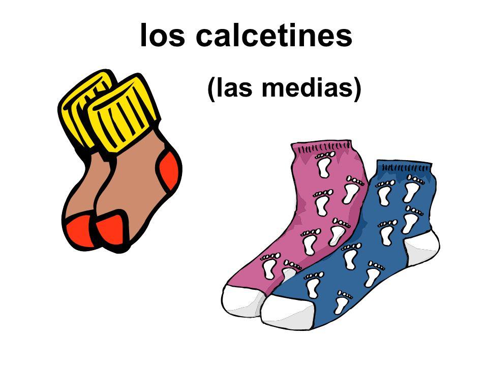 los calcetines (las medias)