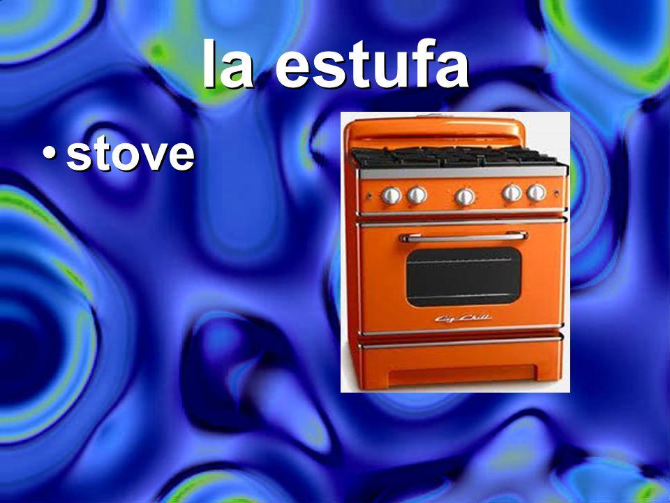 la estufa stove