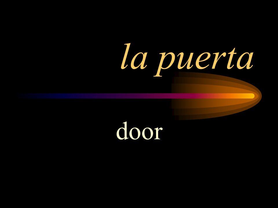 la puerta door