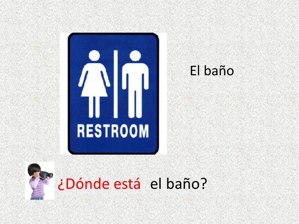 El baño ¿Dónde estáel baño?