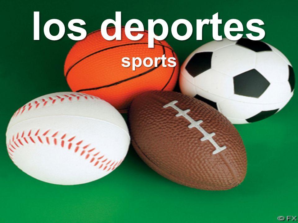 los deportes sports