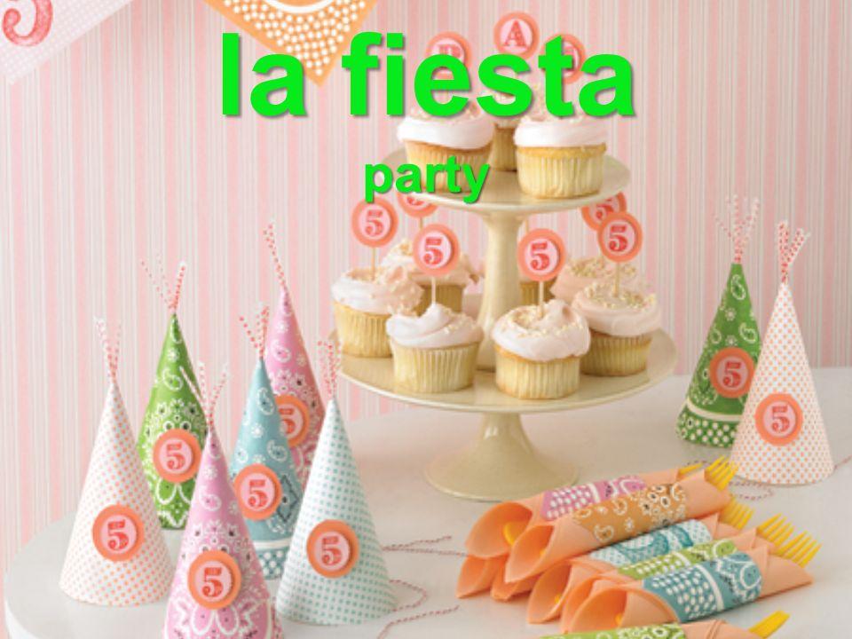 la fiesta party