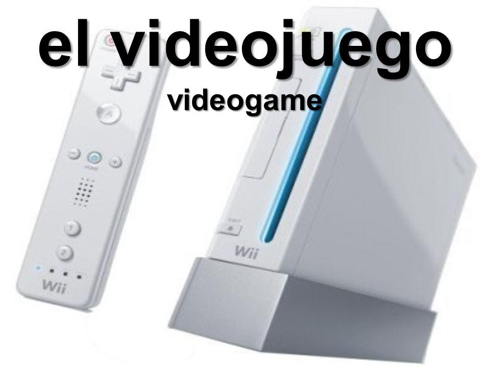 el videojuego videogame