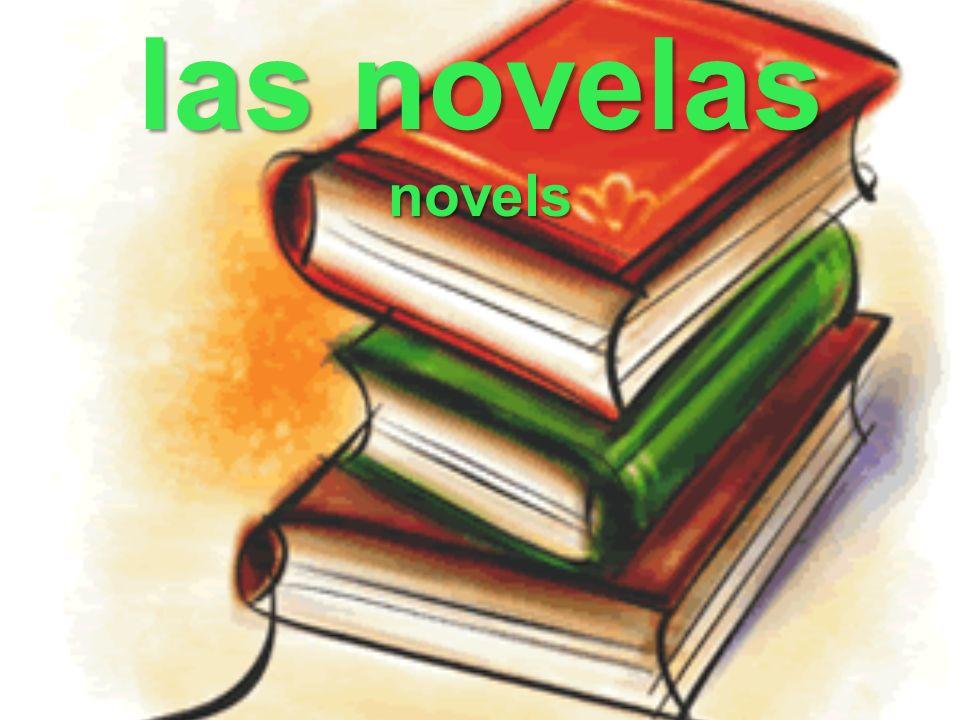 las novelas novels