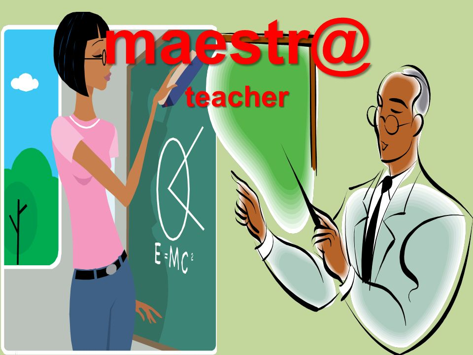 maestr@teacher