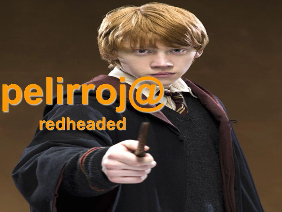pelirroj@redheaded