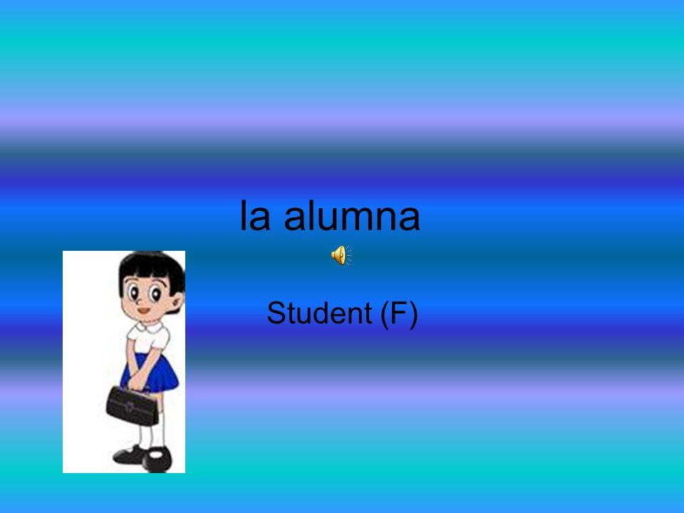 la alumna Student (F)