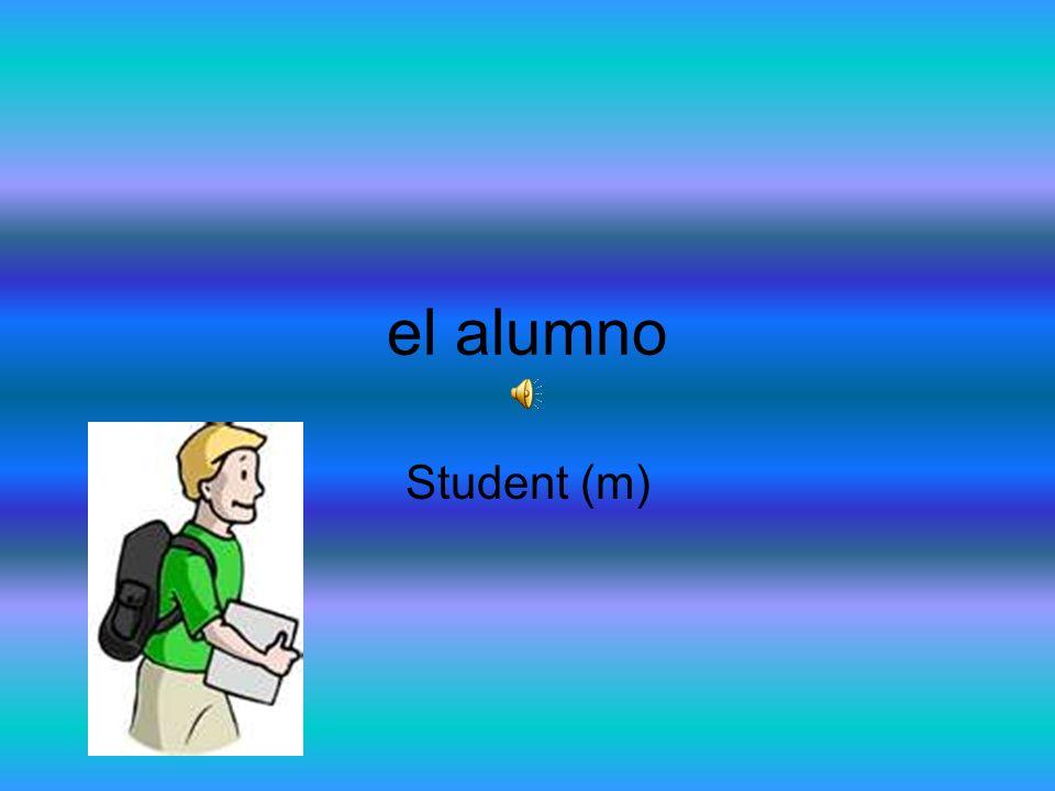 el alumno Student (m)