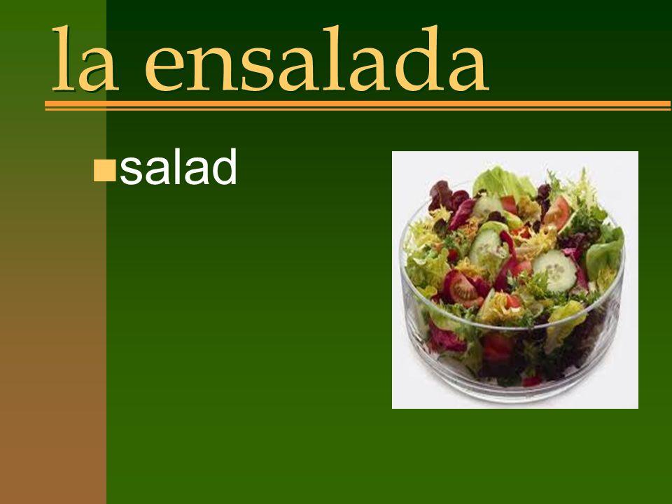 la ensalada n salad