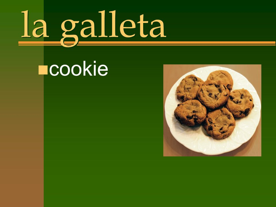 la galleta n cookie