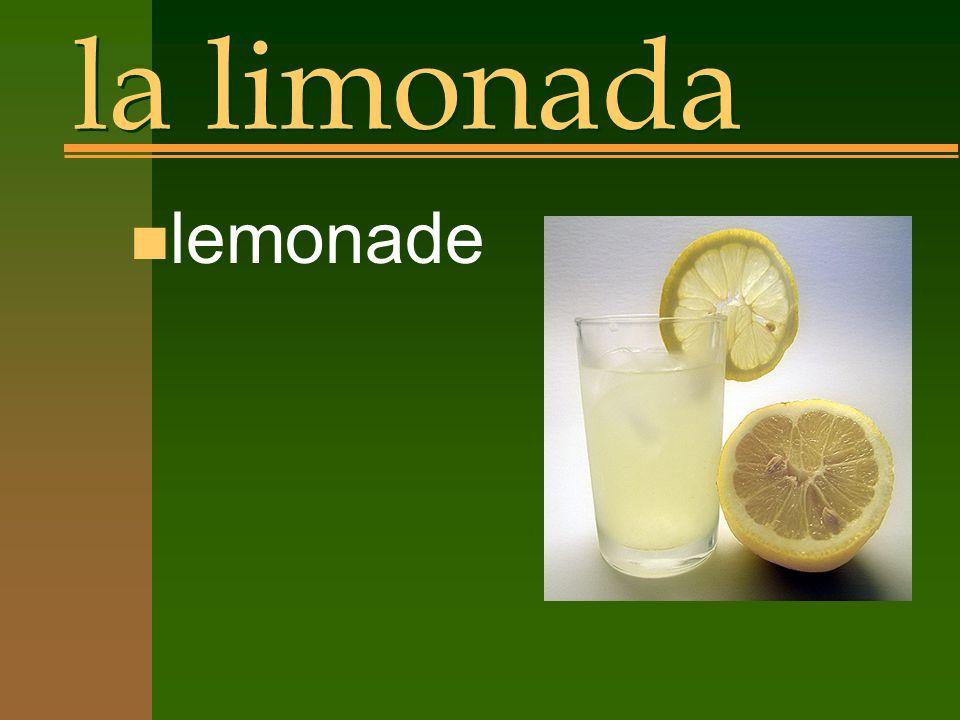 la limonada n lemonade