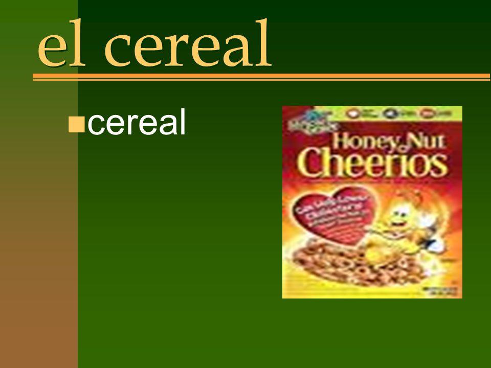 el cereal n cereal